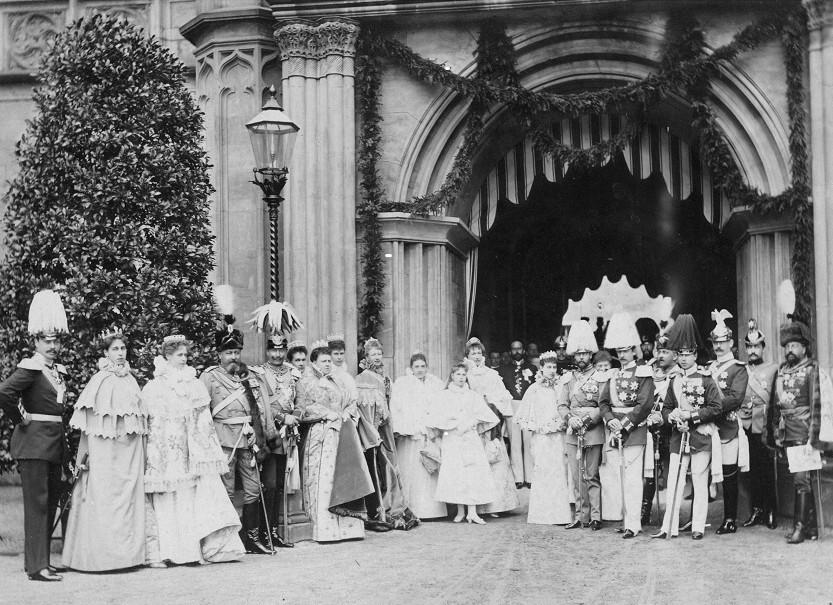 Fürstenhochzeit am 2. August 1888